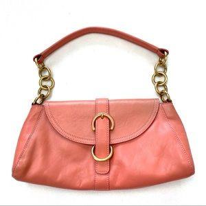 Furla Leather Gold Chain Shoulder Bag